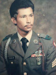 Vietnam veteraan 1970