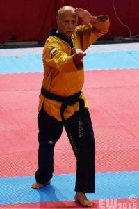 5e plaats WK taekwondo