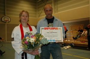 Linda van Teunenbroek 1e Dan