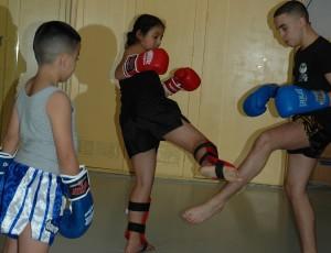 jeugd thai-boksen