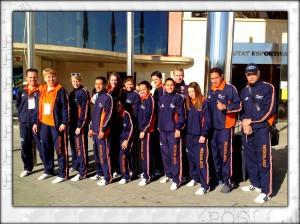 EK Taekwondo Nederlandse selectie 2013