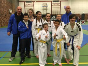 Taekwondo district noord oost
