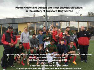Pieter Nieuwland college kampioen