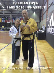 Zilver Belgische Open
